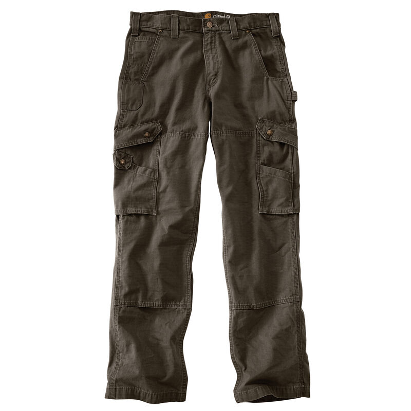 Carhartt Men's Relaxed Fit Double-Front Cargo Work Pant image number 7
