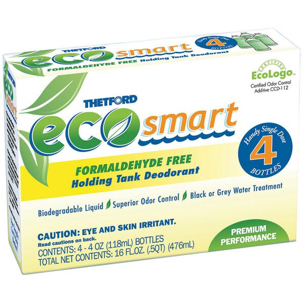 Thetford Eco-Smart Single-Dose Bottle, 4-Pack