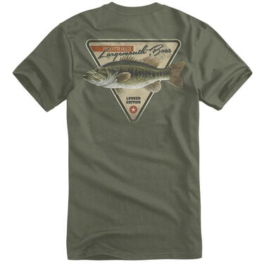 Fin Fighter Men's Largemouth Bass Short-Sleeve Tee