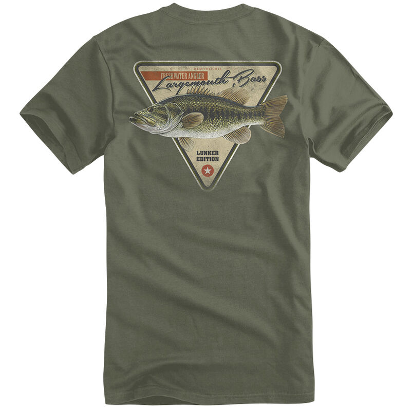 Fin Fighter Men's Largemouth Bass Short-Sleeve Tee image number 1