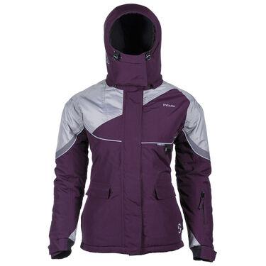 Striker Ice Women's Prism Jacket, Marsala/Gray