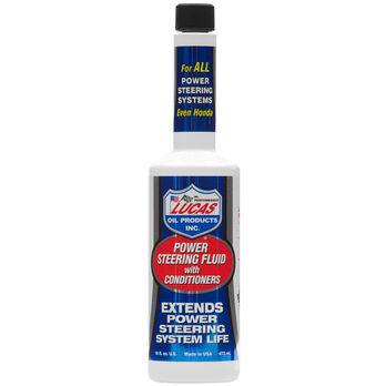 Lucas Oil Power Steering Fluid With Conditioners, 16 oz.