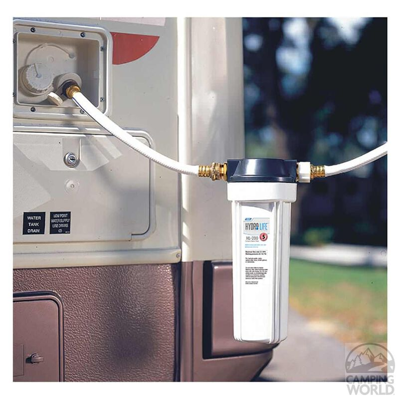 Hydro Life RV/Marine Exterior Water Filter Kit image number 2