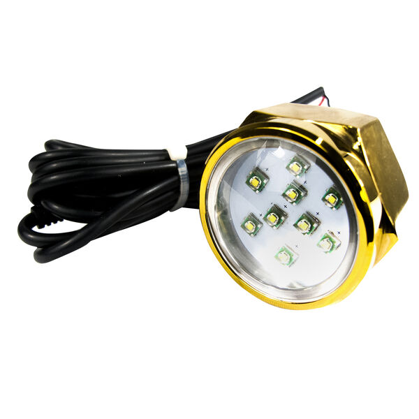 Race Sport CREE LED Underwater Drain Plug Light, White
