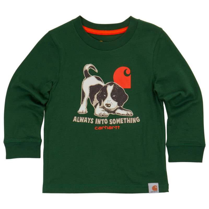 Carhartt Child Always Into Something Long-Sleeve T-Shirt image number 1