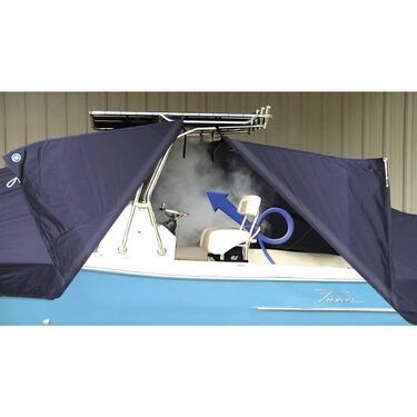 Taylor Made T-Top Boat Cover for Tidewater 196