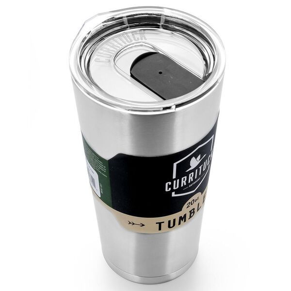 Camco Caribou 20-Oz. Vacuum-Insulated Stainless Steel Tumbler