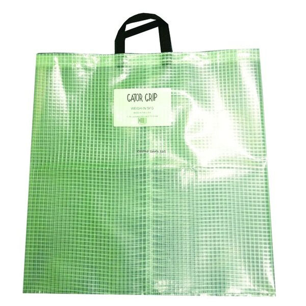 Gator Grip Tournament Fish Weigh-In Bag, Clear