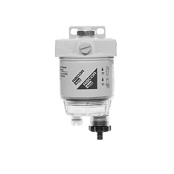 Diesel Spin-On Series Filter/Separator, R12 Element, 15 GPH