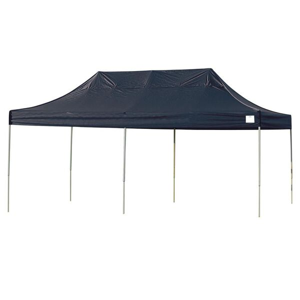 10X20 Pro Series Straight Leg Canopy - Black