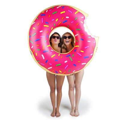 Big Mouth Giant Frosted Donut Pool Float