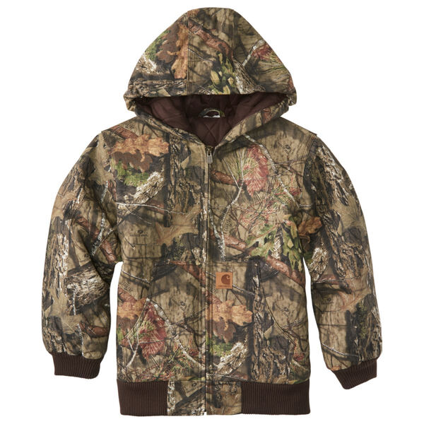 Carhartt Boy's Quilt-Lined Camo Active Jacket