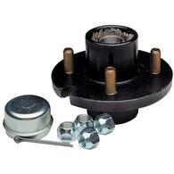 Tie Down Replacement Trailer Wheel Hub Kit, 4-Stud