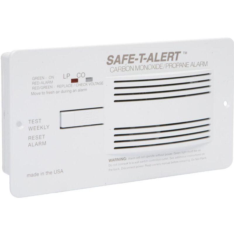 Safe-T-Alert Carbon Monoxide/Propane Alarm, White image number 1