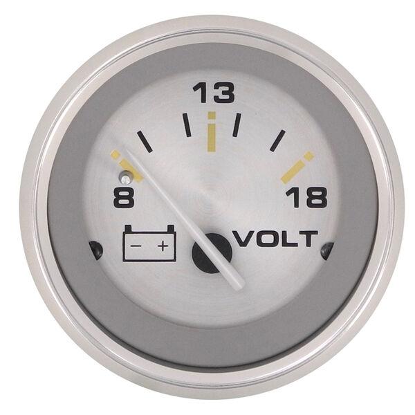 "Sierra Gold Sterling 2"" Voltmeter"