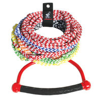Airhead 8-Section Waterski Rope with Radius Handle