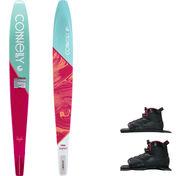 Connelly Women's Aspect Slalom Waterski With Double Shadow Bindings