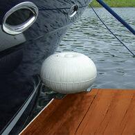 """Dock Wheel White 18"""" Corner Mount"""