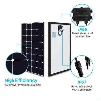 Renogy Eclipse 100-Watt 12V Monocrystalline Solar Panel