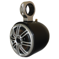 """Monster Tower Polk Single Barrel Speaker With 2.5"""" Inserts, Black"""