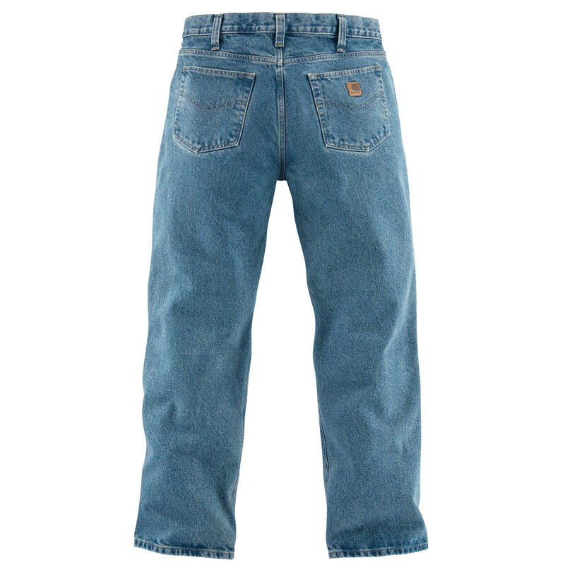 Carhartt Men's Relaxed-Fit Straight-Leg Jean image number 6