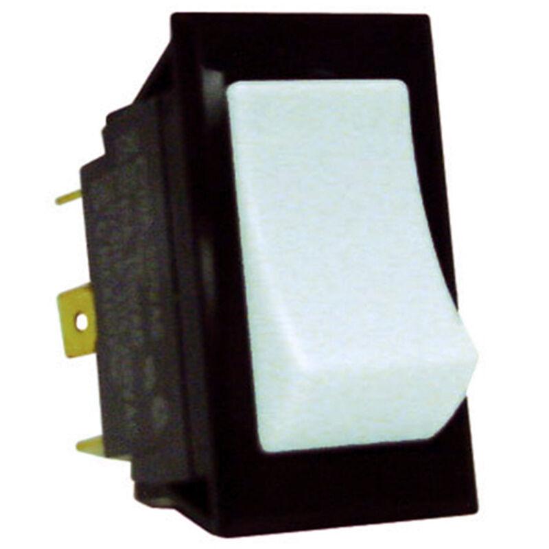 Sierra White Rocker Switch On/Off/On, Sierra Part #RK40170W image number 1