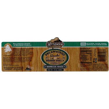 Original Juan Kettlewood Pecanwood Smoke and Bourbon Vanilla BBQ Sauce 15oz