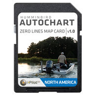Humminbird AutoChart Zero Line Map Card