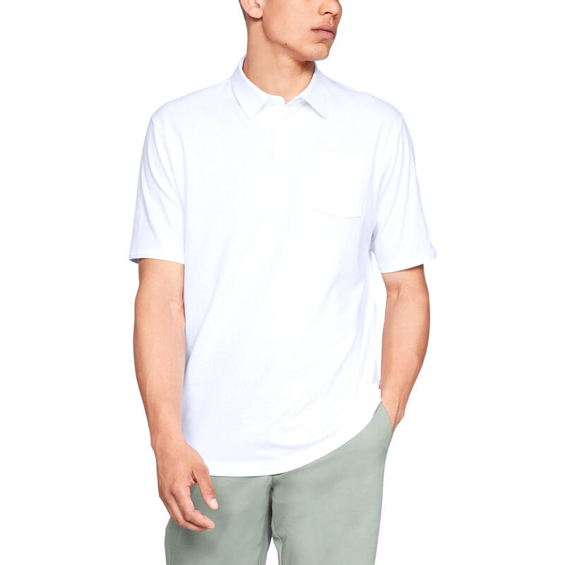 Under Armour Men's Charged Cotton Scramble Polo image number 13