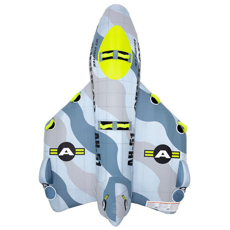 Airhead Jet Fighter 4-Person Towable Tube image number 8