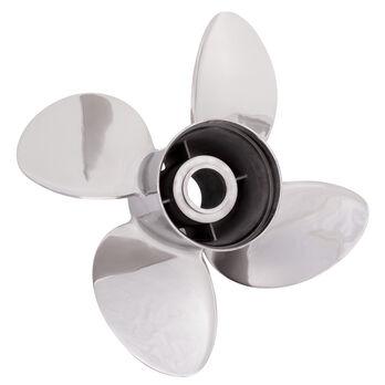 Solas Rubex HR4 4-Blade Propeller, Exchangeable Hub / SS, 13.25 dia x 15, RH