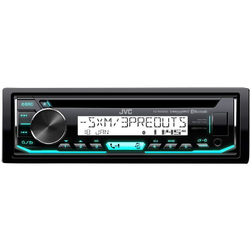 JVC KD-R99MBS CD Receiver With Bluetooth image number 2
