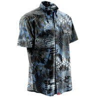 Huk Men's Next Level Kyrptek Short-Sleeve Woven Shirt