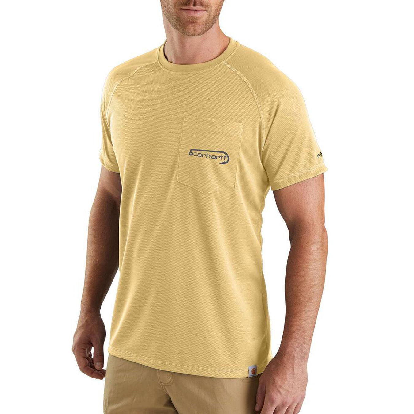 Carhartt Mens Force Fishing Graphic Short-sleeve T-shirt