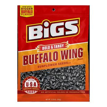 Bigs Buffalo Wing Sunflower Seeds, 5.35 oz.