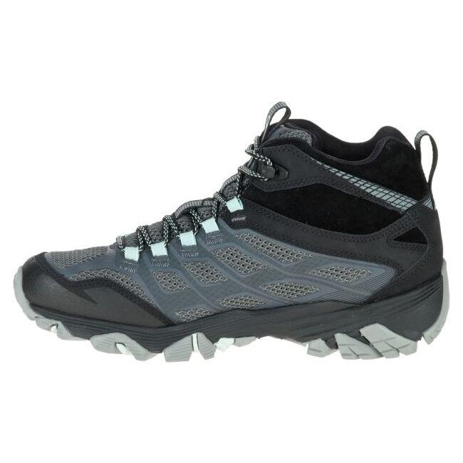 merrell womens moab fst waterproof hiking shoe guard