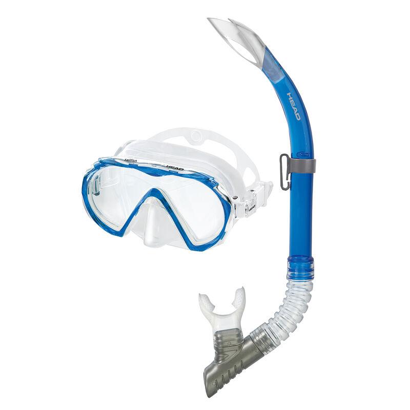 Head Sailfish Mask/Splash Snorkel Set image number 1