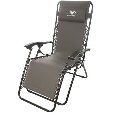 Home Is Where You Park It Zero Gravity Recliner, Gray