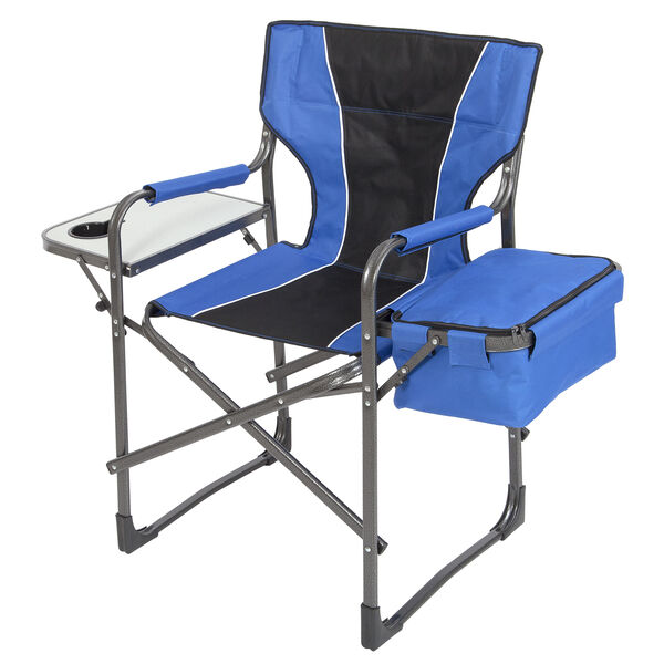 Mac Sports Folding Director's Chair with Side Table and Cooler