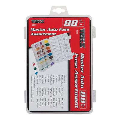 88 Piece Master Auto Fuse Assortment