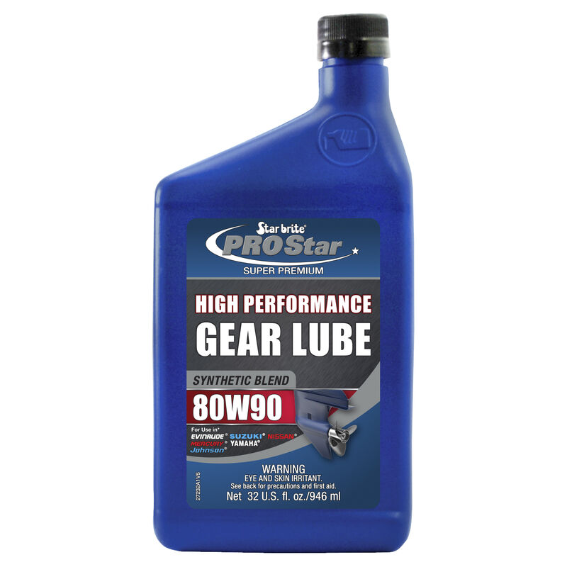 Synthetic Lower Unit Gear Lube 80W 90 32 oz. image number 1
