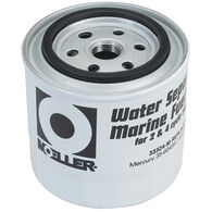 Moeller 10-Micron Short Water Separating Fuel Filter, Universal/Yamaha/Mercury
