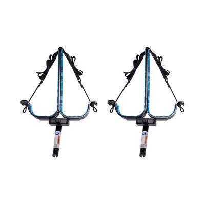 Manta Racks S2 Black Double Paddleboard Rack For 30° Rod Holders