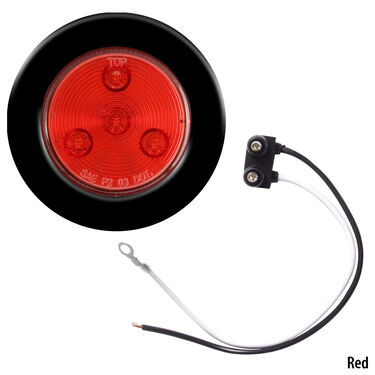 "Optronics LED 2-1/2"" Round Marker And Clearance Light With Multiple Diodes"
