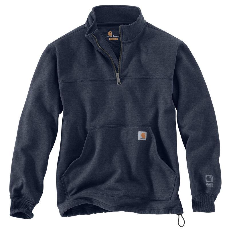 Carhartt Men's Rain Defender Paxton Heavyweight Quarter-Zip Sweatshirt image number 5