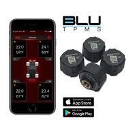 BLU Tire Pressure & Temperature Monitoring System, External 1-100psi, Set of 4