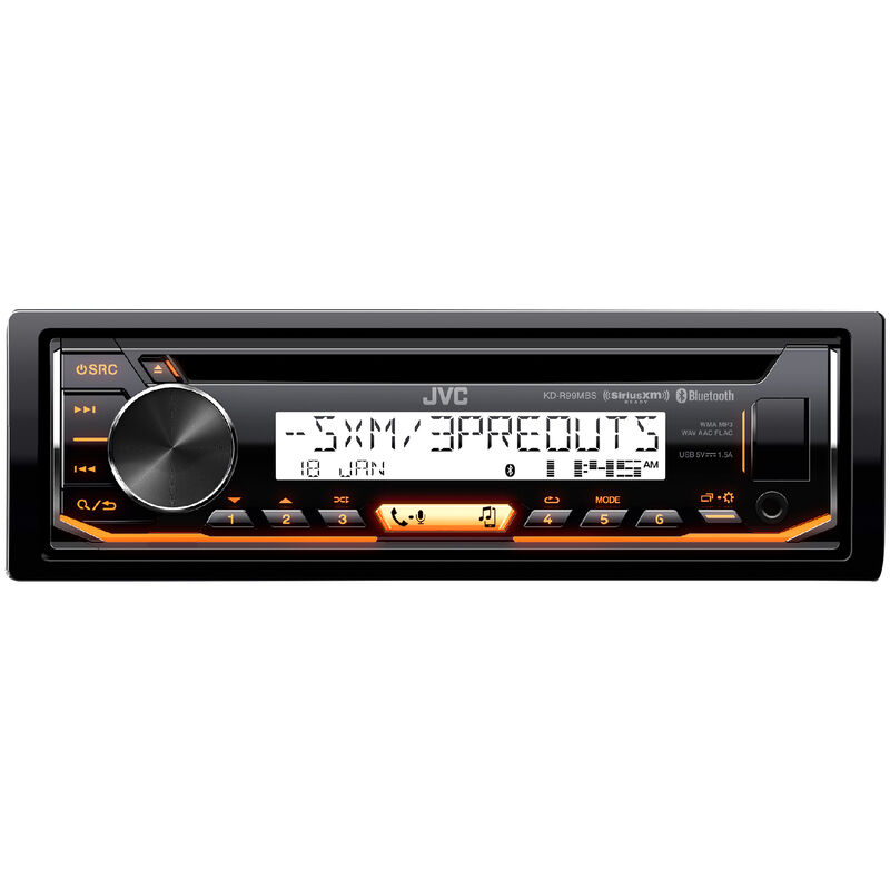 JVC KD-R99MBS CD Receiver With Bluetooth image number 4