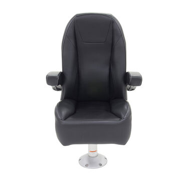 Mid Back Recliner Premium Pontoon Helm Seat