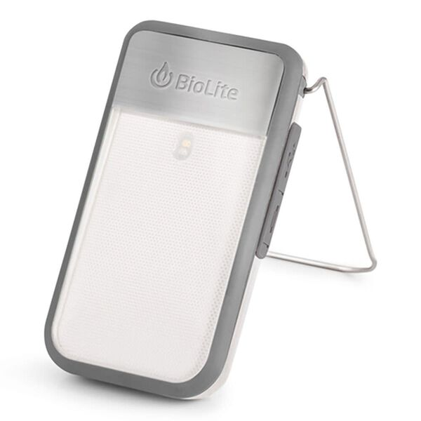 BioLite PowerLight Mini Clippable Lantern and Charge Port Combo, Gray
