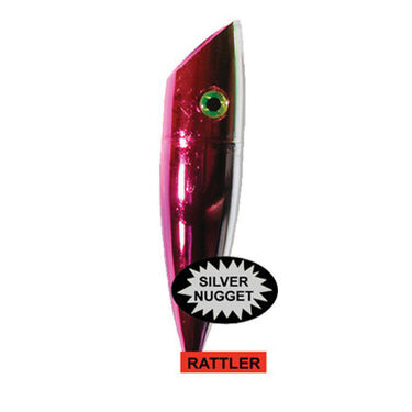 Silver Horde Plug with Rattler
